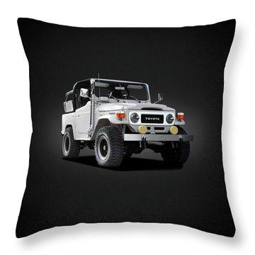 The Land Cruiser Throw Pillow