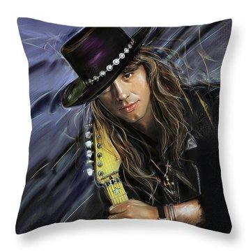 Richie Sambora Throw Pillow