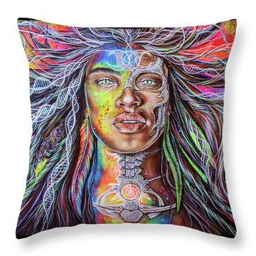 Wild Re-membering  Throw Pillow