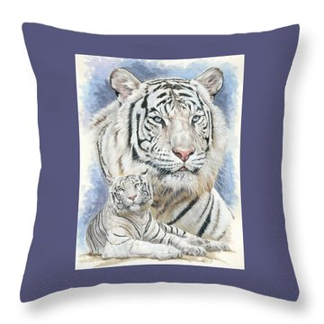 Dignity Throw Pillow by Barbara Keith