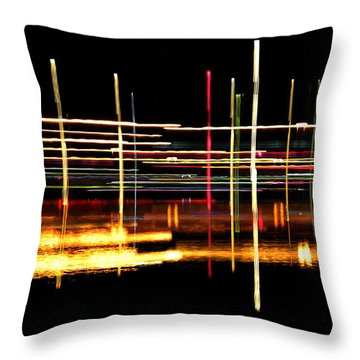 Throw Pillow featuring the photograph Cosmic Avenues by Bill Kesler