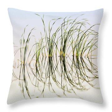 Graceful Grass Throw Pillow by Bill Kesler