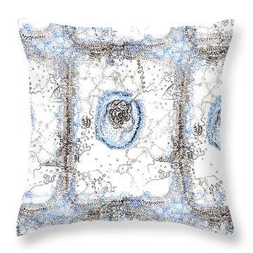 Eukaryotic Throw Pillow