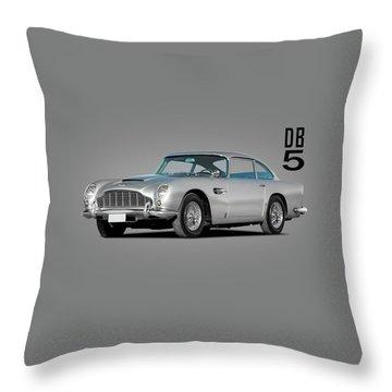 Aston Martin Db5 Throw Pillow