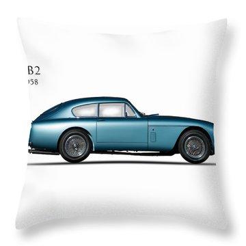 Aston Martin Db2 Throw Pillow