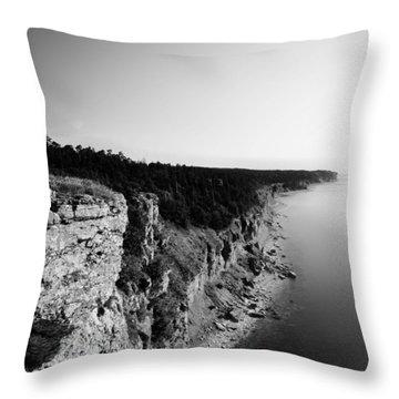 Where Sea Meets Land Throw Pillow
