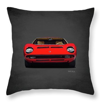 The Miura Throw Pillow by Mark Rogan