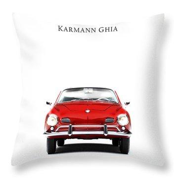 Volkswagen Karmann Ghia Throw Pillow