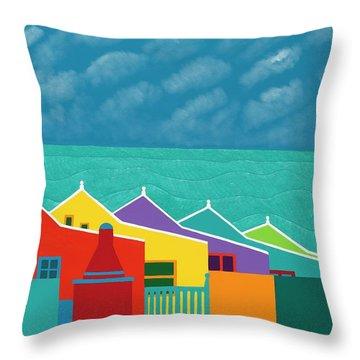 Aruba Fantasy  Throw Pillow