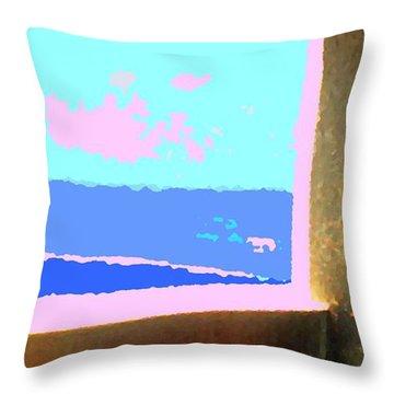 Aruba Throw Pillow by Ian  MacDonald