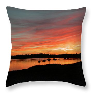Arzal Sunset Throw Pillow