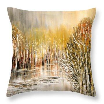 As A Dream Throw Pillow by Tatiana Iliina