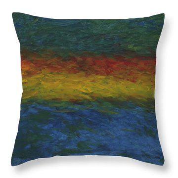 As Above, So Below Throw Pillow
