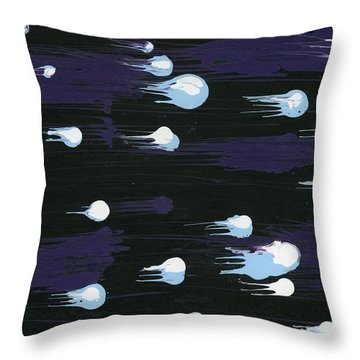 As Angels Fall Throw Pillow
