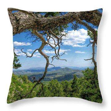 'as Far As The Eye Can See' Throw Pillow