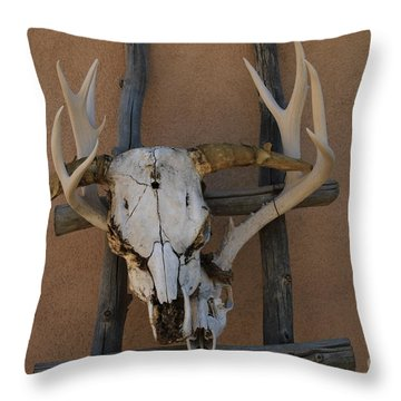 As Far As We Got Throw Pillow by Edward R Wisell