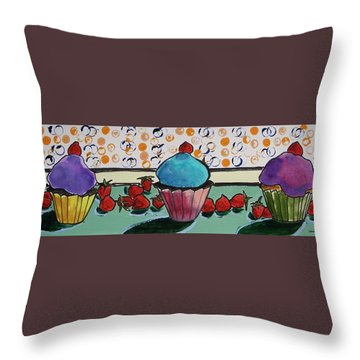 As Fresh As It Gets Throw Pillow by John Williams