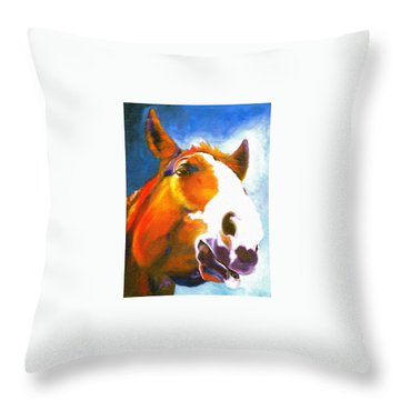 As I Was Saying Throw Pillow