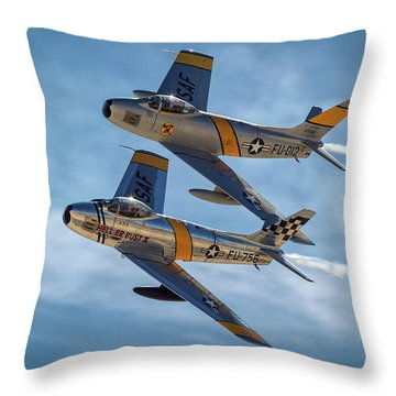 As If Welded Throw Pillow