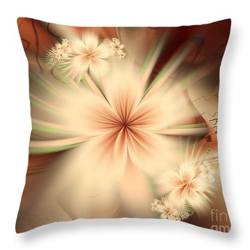 As In A Dream Throw Pillow by Michelle H