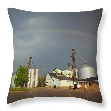 Throw Pillow featuring the photograph As Luck Would Have It by Viviana  Nadowski