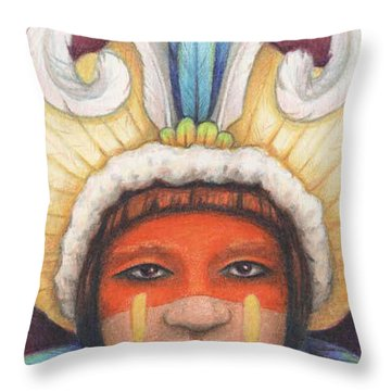 As My Ancestors Throw Pillow by Amy S Turner