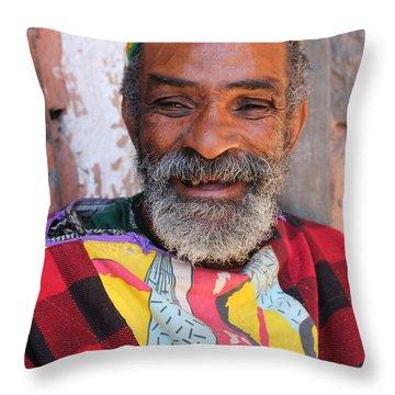 Throw Pillow featuring the photograph As-salaam Alaikum  by Ramona Johnston