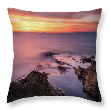 As The Day Ends Throw Pillow