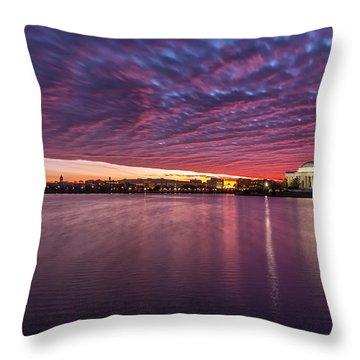 Throw Pillow featuring the photograph Apocalyptical by Edward Kreis