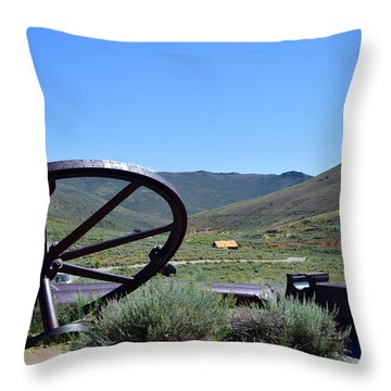 As The Wheel Turns Throw Pillow