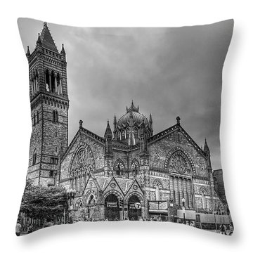 As The World Passes By... Throw Pillow by Evelina Kremsdorf