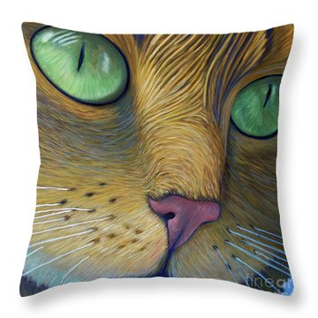 As Time Goes By Throw Pillow by Brian  Commerford