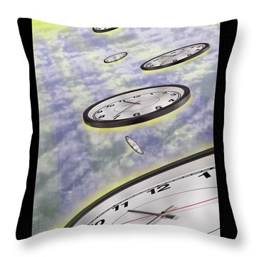 As Time Goes By Throw Pillow by Mike McGlothlen