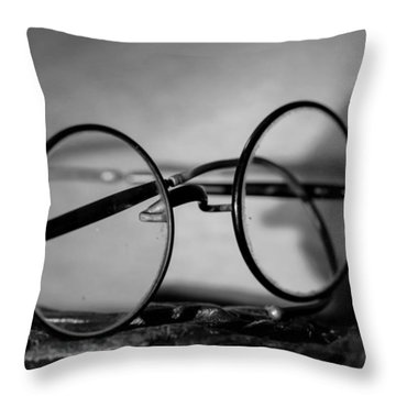 As Time Passes ... Throw Pillow