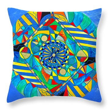 Ascended Reunion Throw Pillow