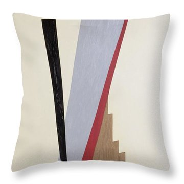 Ascending Throw Pillow by Carolyn Hubbard-Ford