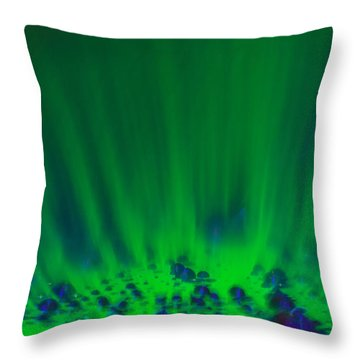 Throw Pillow featuring the photograph Ascending by Greg Collins