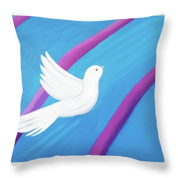 Ascending Throw Pillow