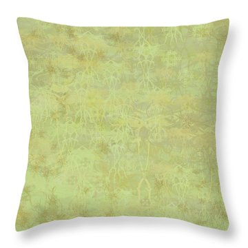 Ascending Zen Throw Pillow