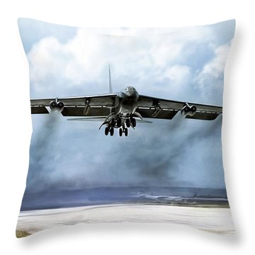 Ascension Throw Pillow by Peter Chilelli