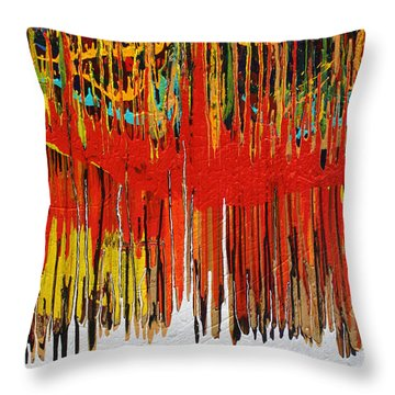 Ascension Throw Pillow by Ralph White