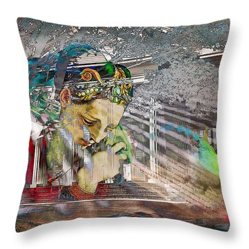 Throw Pillow featuring the photograph Ascension by Richard Ricci