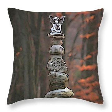 Ascention Throw Pillow