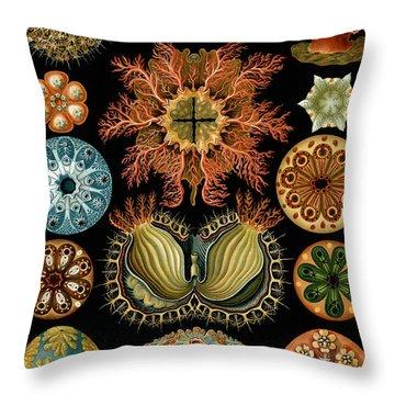 Organism Throw Pillows