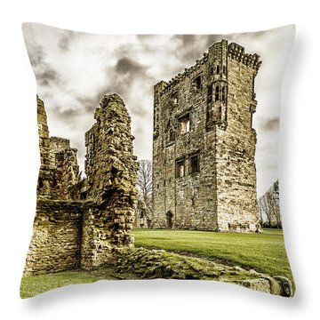 Ashby Castle Throw Pillow
