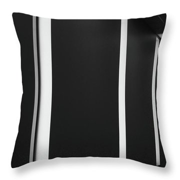 Asheville Abstract  Throw Pillow by Gray  Artus