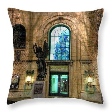 Asheville Art Museum Throw Pillow