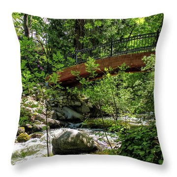 Ashland Creek Throw Pillow