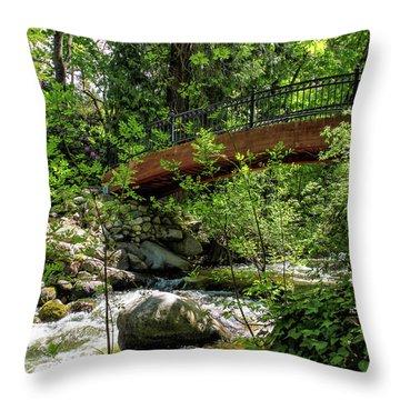 Ashland Creek Throw Pillow