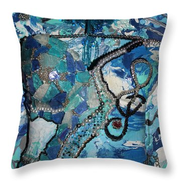 Ashley - Let The Music Play Supporter Throw Pillow